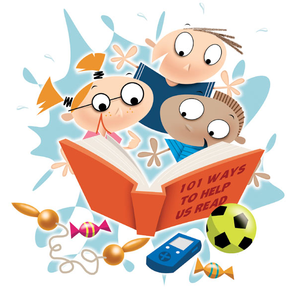 parents-and-children-reading-clip-art-i7-royalty free image