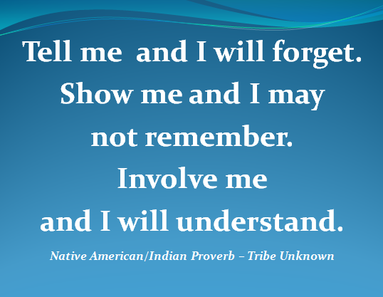 Native American Proverb - A