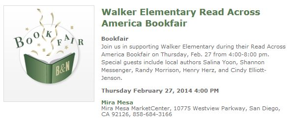 Barnes and Noble-Walker Elem-Feb. 27-2014
