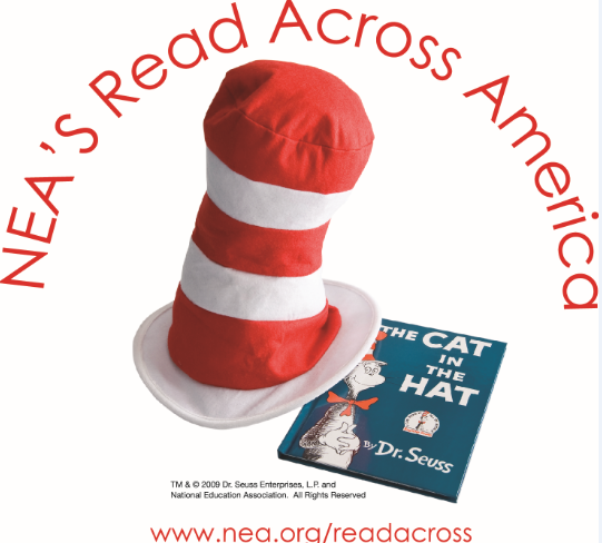 Cat in the Hat-NEA Read Across America-2014-Arch