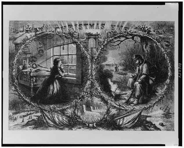 Thomas Nast - Christmas Eve
