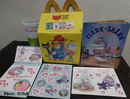 Clark the Shark Takes Heart - Happy Meal - Photo G Nall